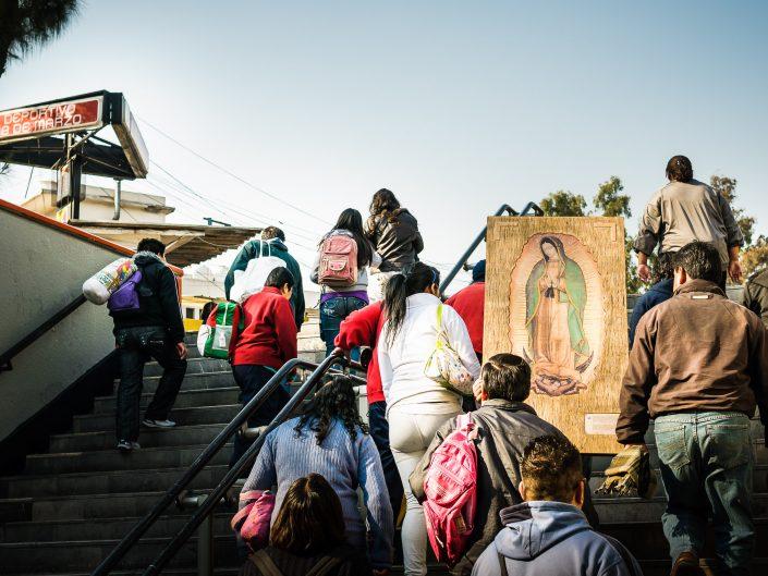 December 12, Basílica de Santa María de Guadalupe, Mexico City