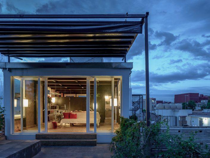 Penthouse, Mexico City, Inhab 2013