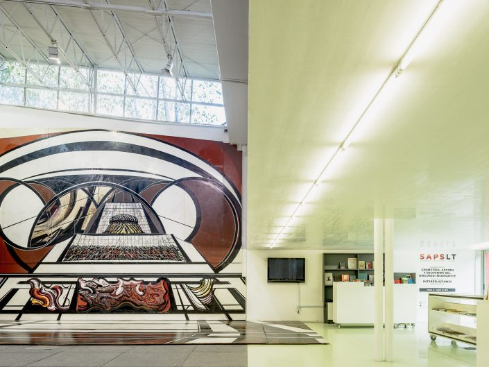 Sala de Arte Público Siqueiros, Mexico City, Arquitectura 911 2012