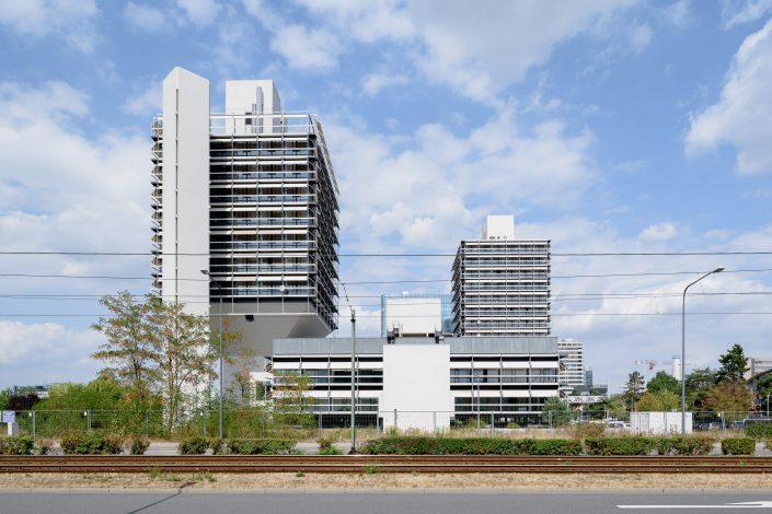 Olivetti Towers, Frankfurt/M., Egon Eiermann 1967-72
