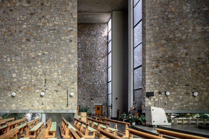 St. Wendel Church, Frankfurt/M., Johannes Krahn 1957