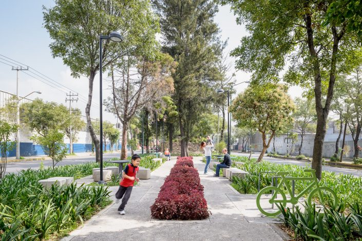 Pocket Parks, Mexico City, Autoridad del Espacio Público 2014
